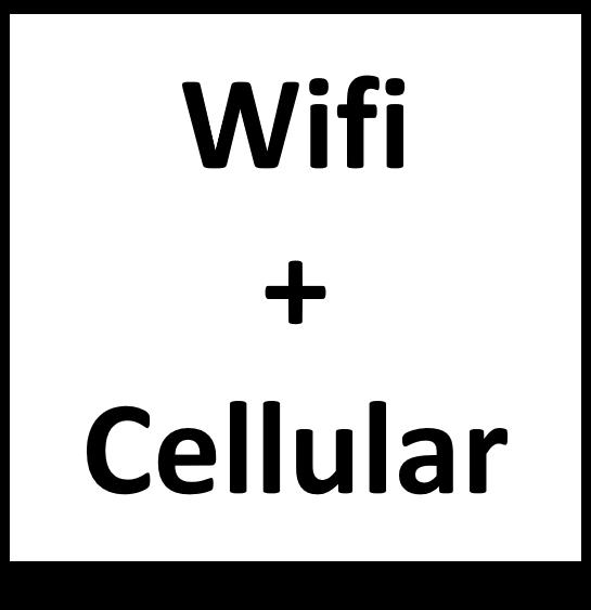 Wifi + Cellular