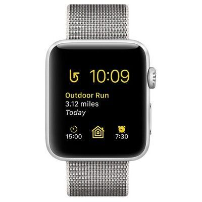 Apple Watch 42mm (aluminum case) is