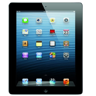 IPad 4th generation: 128GB WiFi + 4G LTE