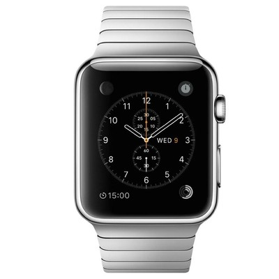 Apple Watch 42mm (stainless steel case)